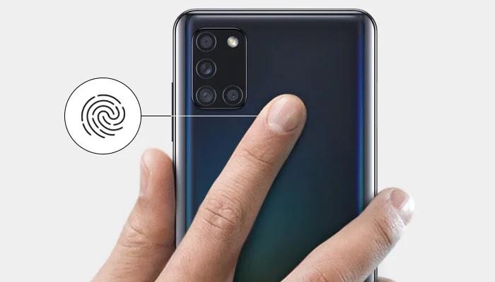 Samsung Galaxy A21s Fitur Lain