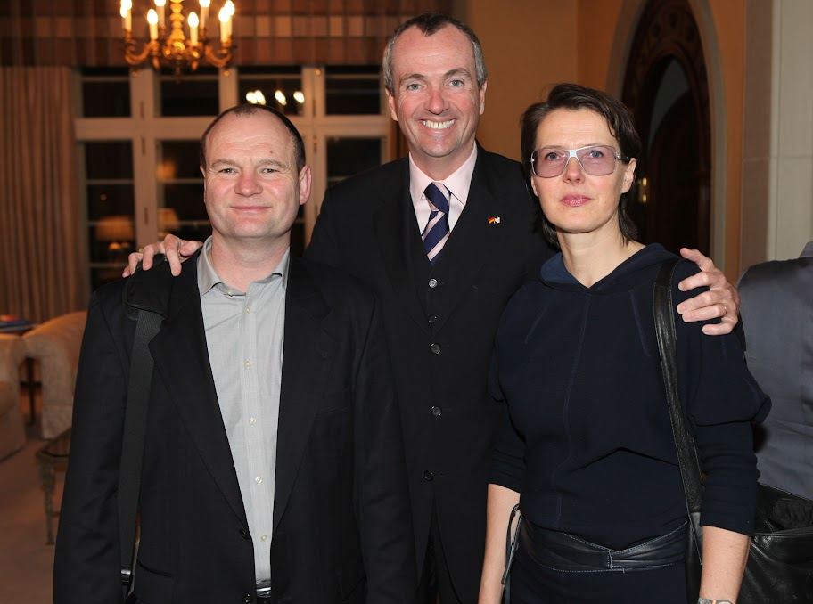 Ambassador Murphy with Jörg Bürkle and Eva Castringius.