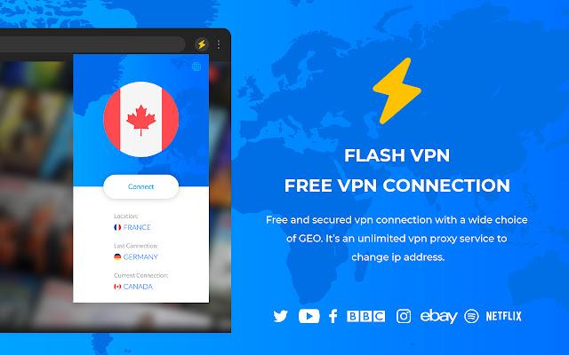 3. Flash VPN - Free VPN Connection