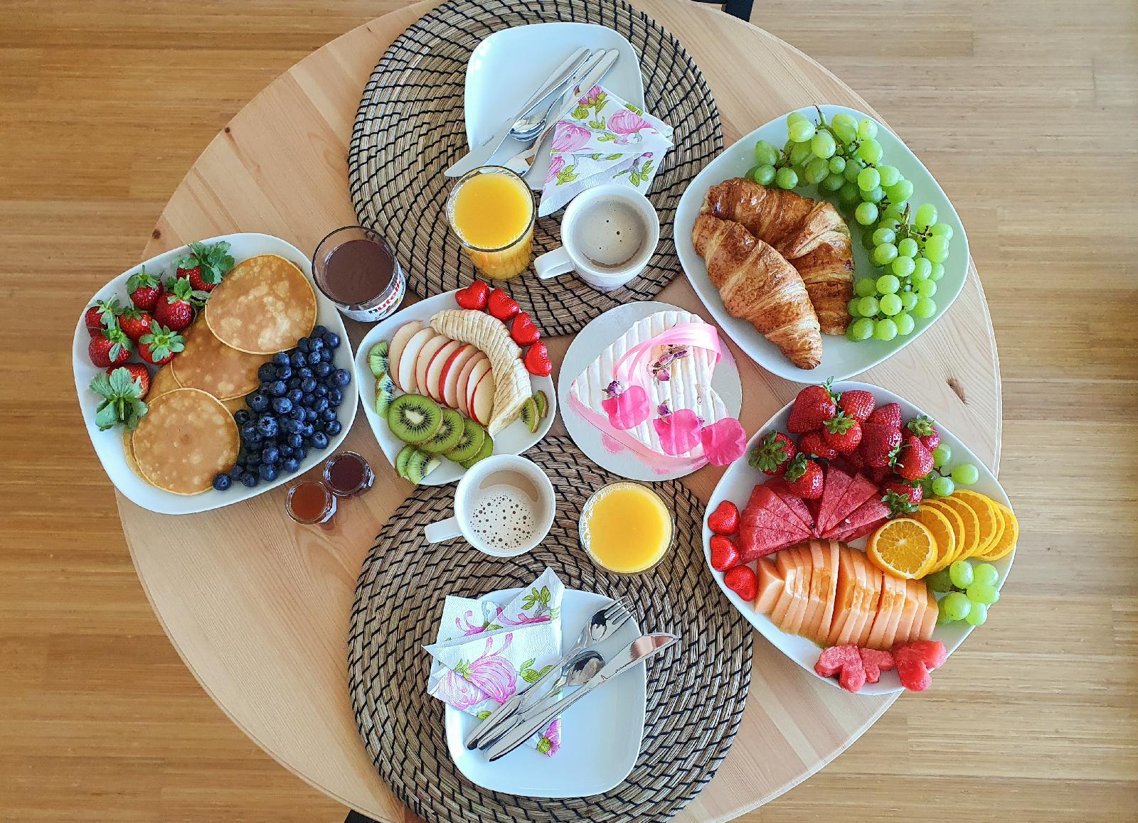 Valentine's Day Breakfast served