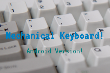 Mechanical Keyboard forAndroid- screenshot thumbnail