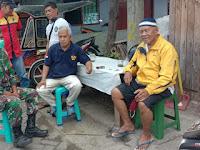 Babinsa Koramil 08-1408/BS Makassar Kelurahan Barabaraya Utara   Sosialisasi Pencegahan Virus Covid-19.