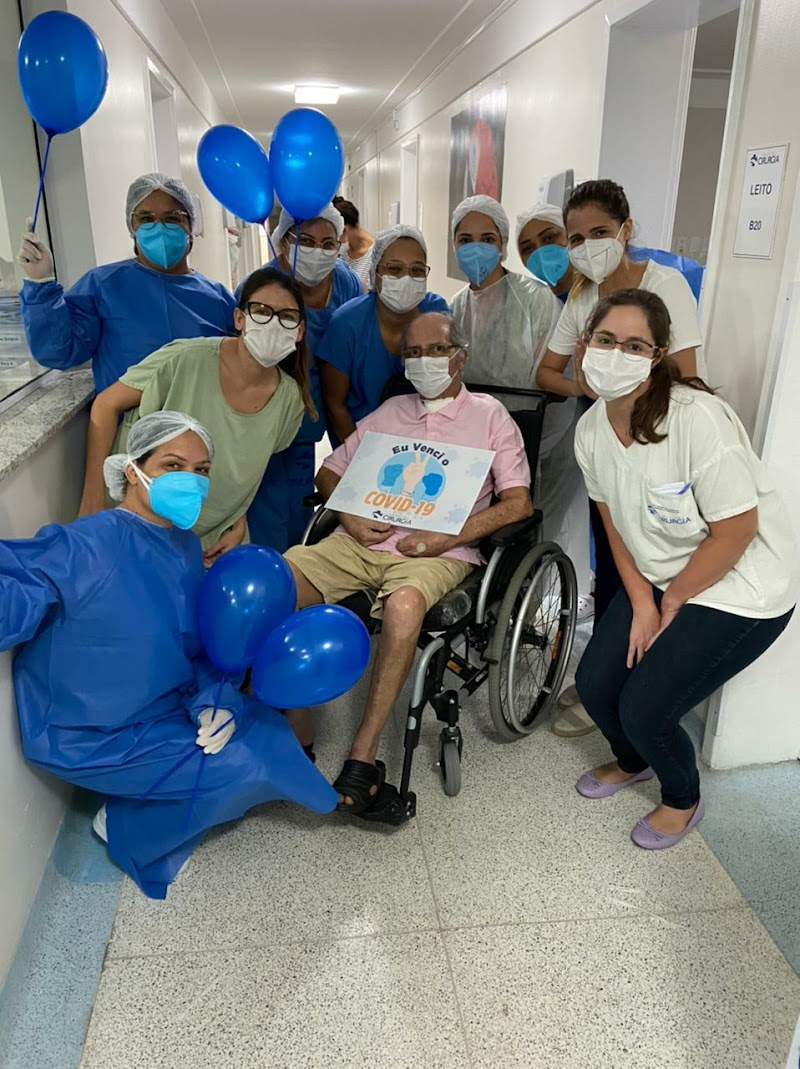 Prefeito de Maruim recebe alta hospitalar