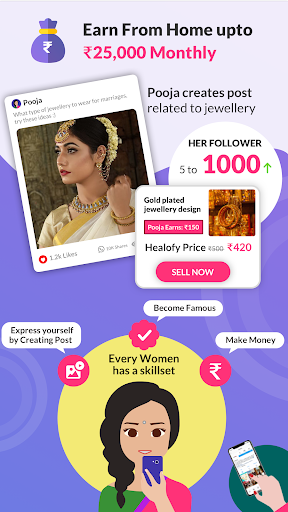 Indian Women App: Healofy 3.0.8.11 Screenshots 2