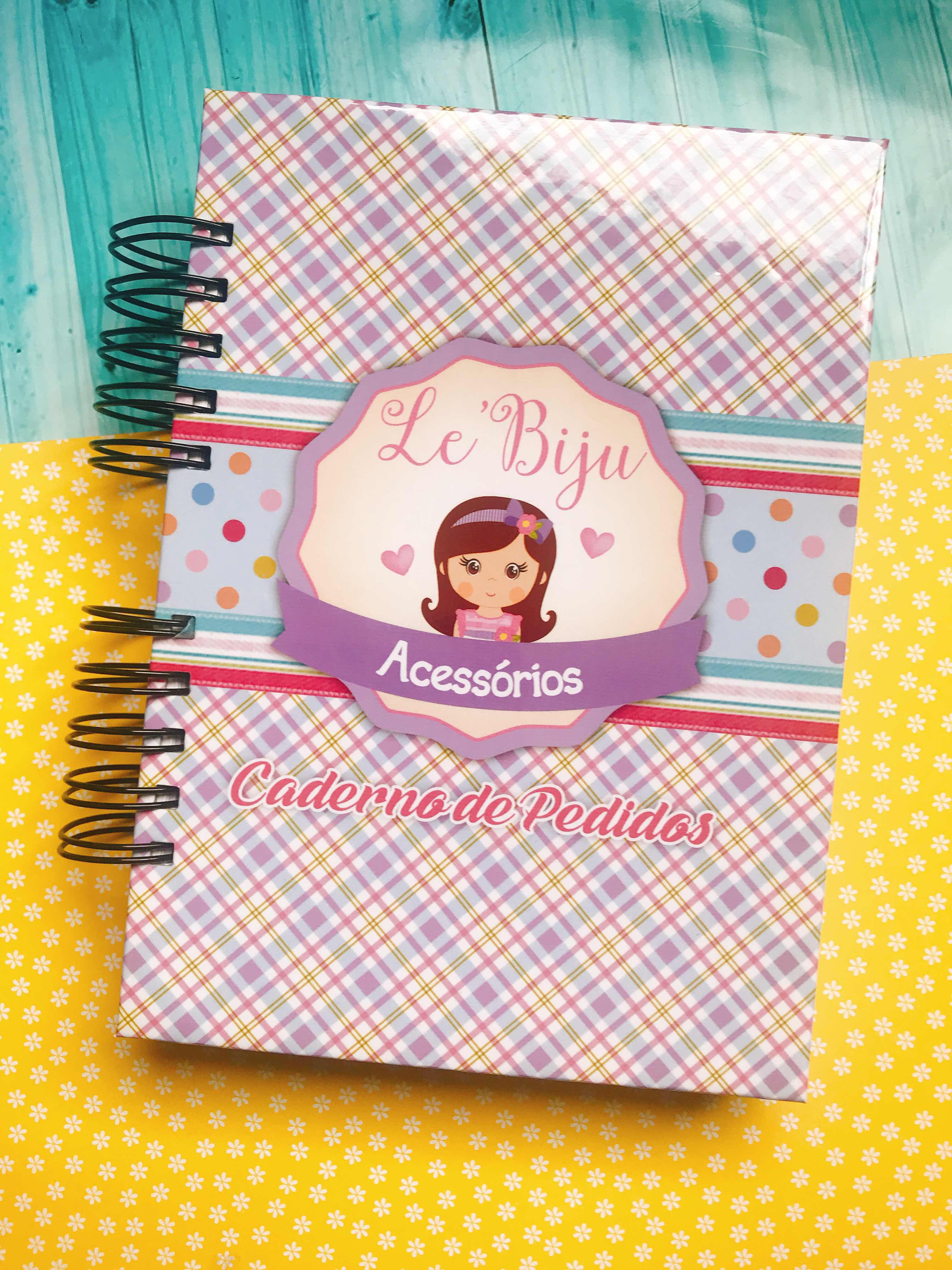 Caderno de pedidos Lê Biju