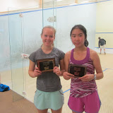 GU19 draw: Rebecca Brownell (Winner), Sarah Zhang (Finalist)