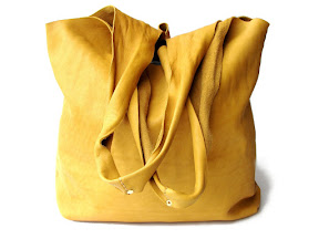 кожаный мешок арт. № 012 yellow