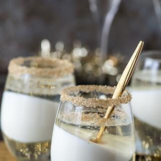 Champagne Jello Cups