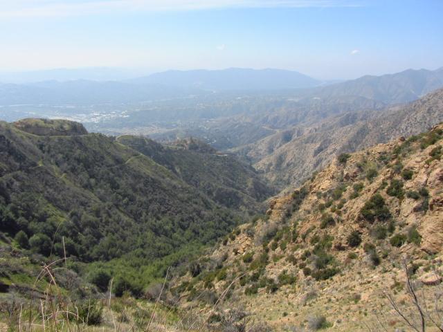 Sunset Ridge above Millard Canyon