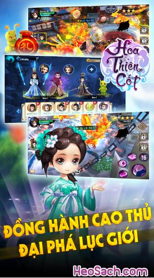 Đôi nét về game kiếm hiệp Hoa Thiên Cốt Web cho Smartphone + Hình 4