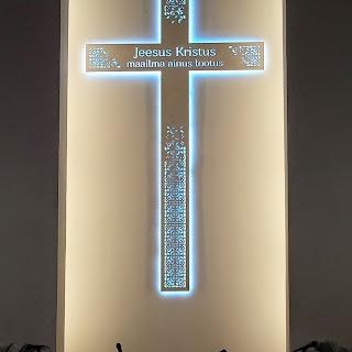 Uus rist Kolgata peasaali seinal - jõululaupäeval 2014