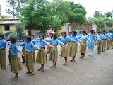 P.E. lesson for Class V of the primary school