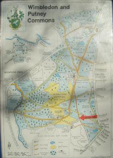 DSCF1518 Map of Wimbledon Common