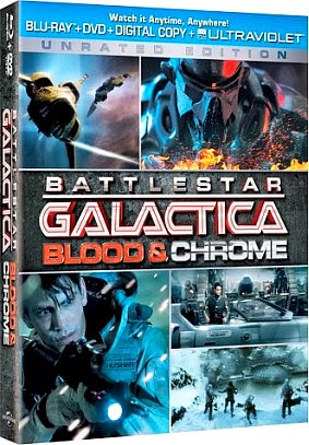 Filme Poster Battlestar Galactica: Sangue & Chromo BDRip XviD Dual Audio & RMVB Dublado