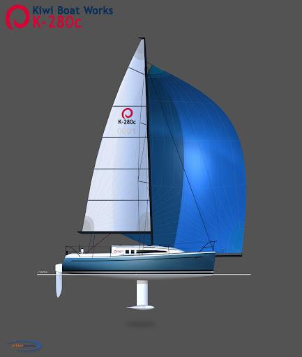 Dibley 280 Cruising Trailer Yacht
