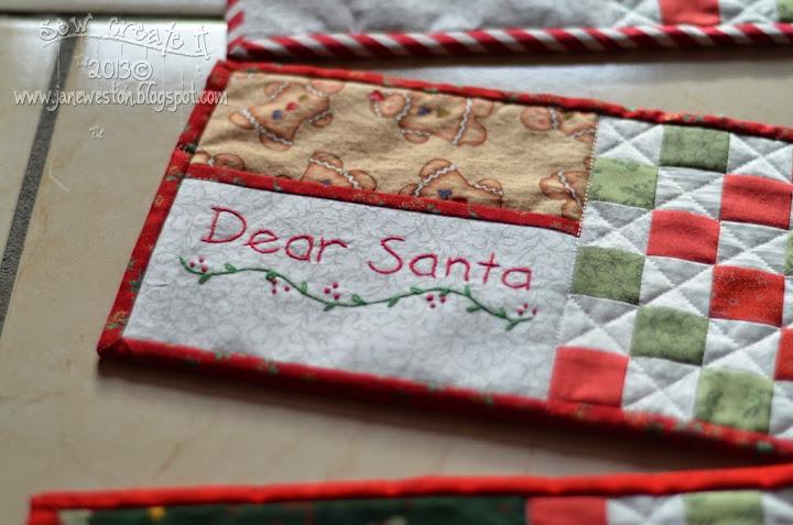 sew create it: Dear Santa...