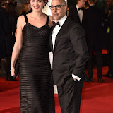 OIC - ENTSIMAGES.COM - Stanley Tucci and Felicity Blunt at the  EE British Academy Film Awards 2016 Royal Opera House, Covent Garden, London 14th February 2016 (BAFTAs)Photo Mobis Photos/OIC 0203 174 1069