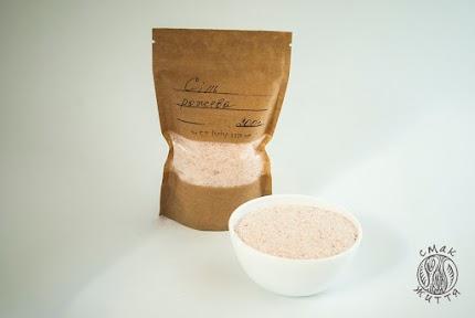 Сіль рожева гімалайська