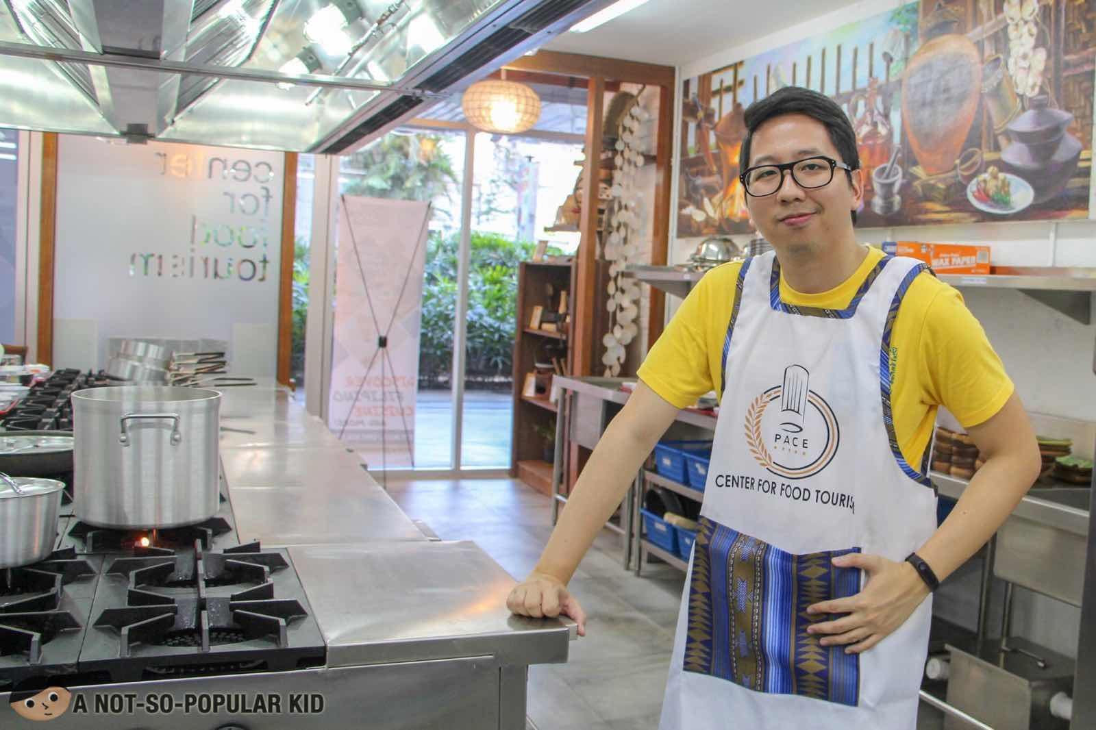 Renz Cheng in PACE Araneta