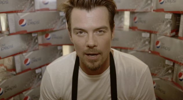 "Josh Duhamel and Diet Pepsi Present ""Check Out"""