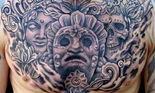 om_e_deus_asteca_tatuagens_no_peito