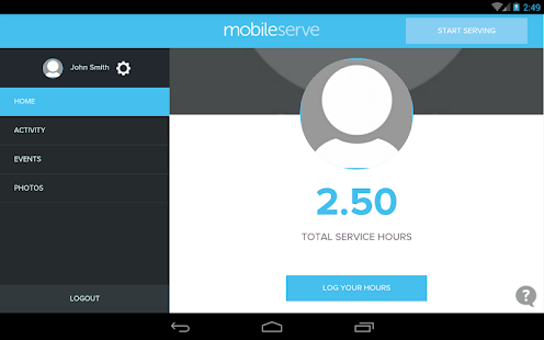 MobileServe- screenshot thumbnail