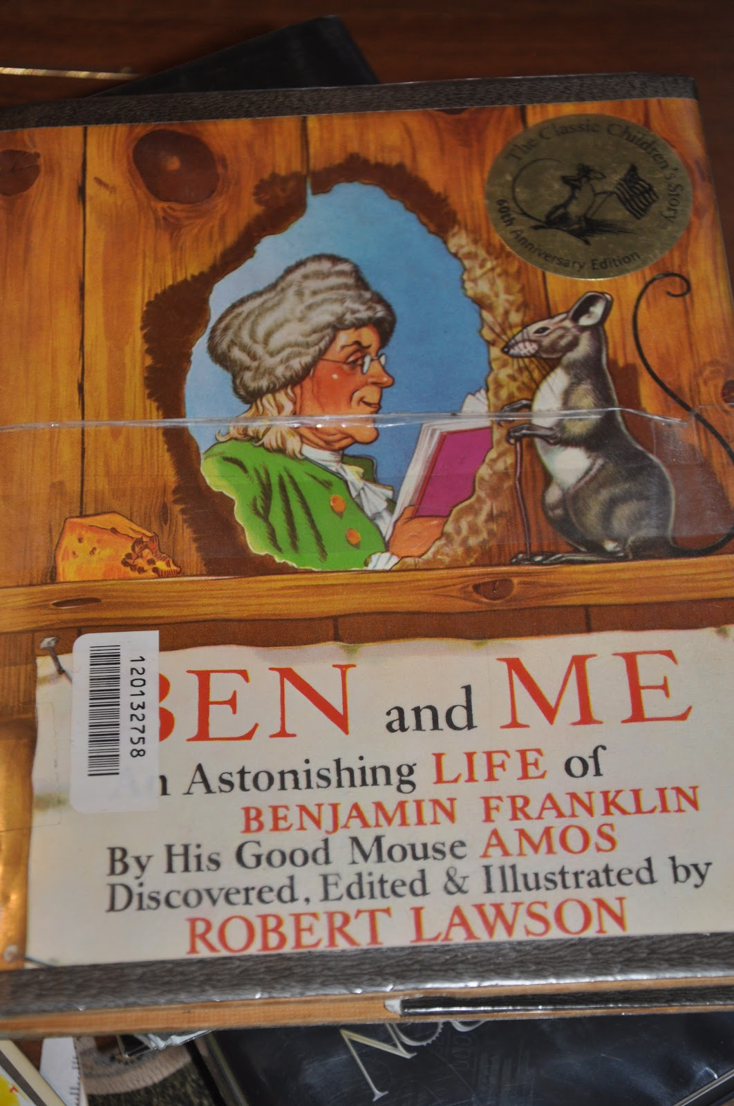 Mrs Archer S Book Notes Ben And Me An Astonishing Life