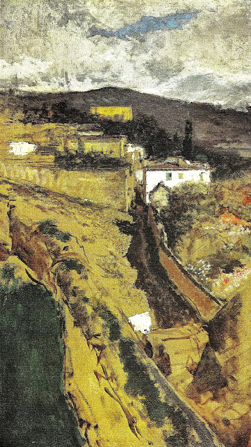 Mariano Fortuny - View of Granada