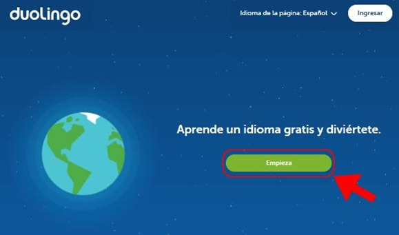 Abrir mi cuenta Duolingo - 534