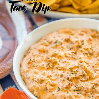 Creamy Taco Dip.