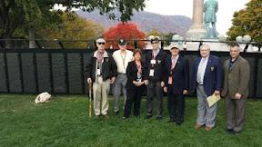 hursday Morning Crew reporting for duty. From left to right: Nic Merriam, Gene Manghi, Eileen Rountree, Paul Schultz, Bill Reisner, Dan Donaghy, Dan's son – also named Dan