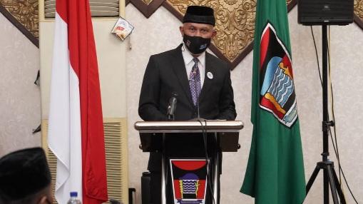 HUT Kota Padang, Gubernur Sentil Wako Soal Kekosongan Jabatan Wakil Walikota