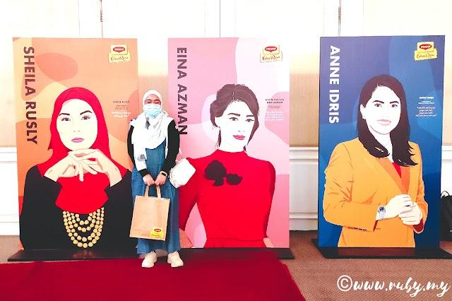 Datin Paduka Eina Azman, Sheila Rusly Dan Anne Idris Dilantik Sebagai Mentor Program Mentor Wanita Cukup Berani Maggi