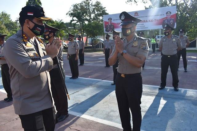 Periode Juli 2020, Puluhan Personel Polres Inhu Naik Pangkat, Salah Satunya Staf Humas