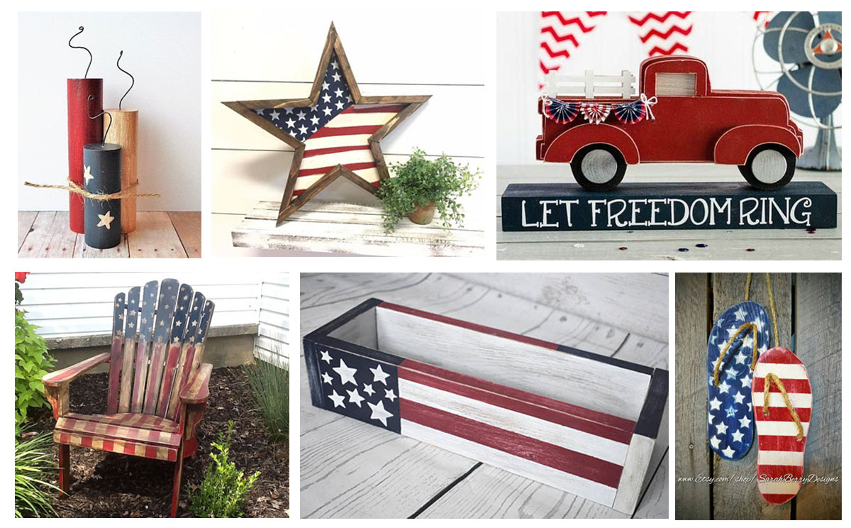 15 Patriotic woodworking projects