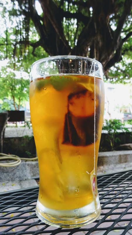 NYCC 紐約社區咖啡館檸檬薄荷冰茶.JPG