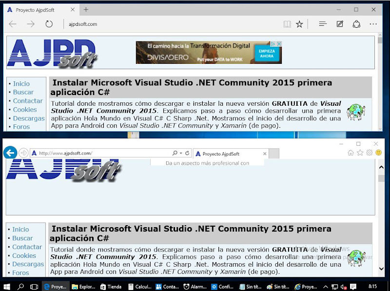 Novedades de Windows 10, mejoras, cambios
