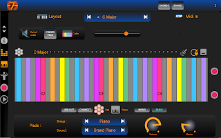 7 Pad : Scales and chords