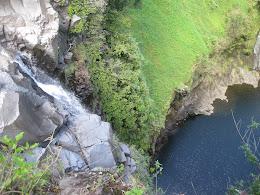 Makahiku Falls below Infinity Pool.