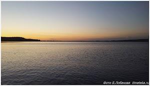 На озере Пено