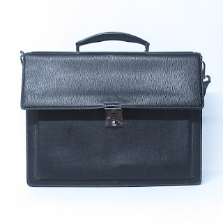 Salvatore Ferragamo Leather Satchel Briefcase