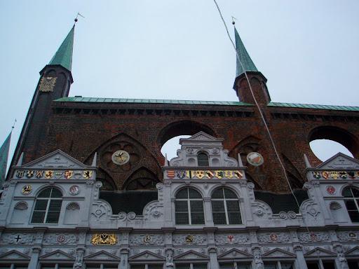 リューベックの市庁舎