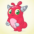 Cartoon Style Monster Free Download Vector CDR, AI, EPS and PNG Formats