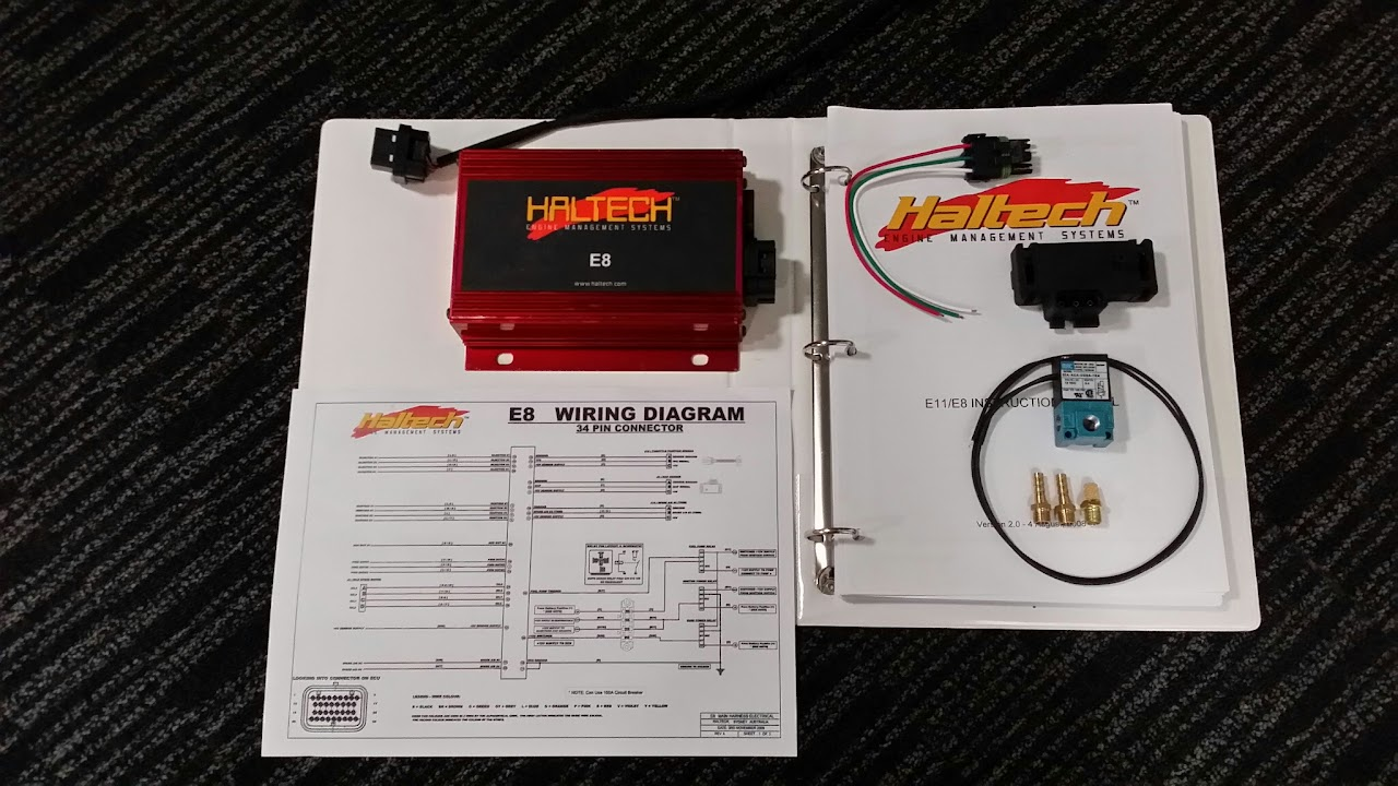 Haltech E8 Wiring Diagram And Schematics Solutions
