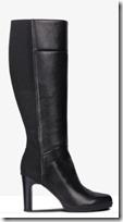 Geox elastic back knee high boot