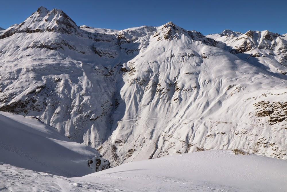 Avalanche Haute Maurienne, secteur Bonneval sur Arc, RD 902 secteur Roches - Pointe des Roches - Photo 1