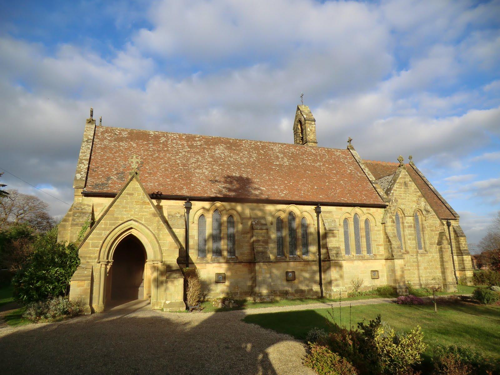 CIMG1740 All Saints church, Langton Green