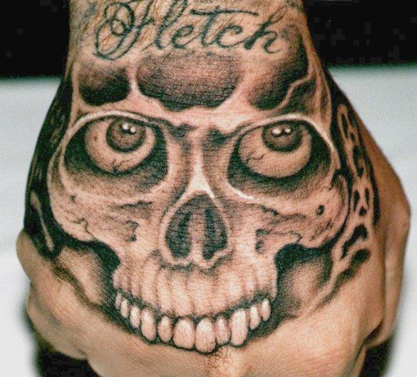 Fist Skull
