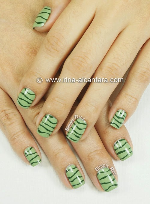 Line Design Nail Art : Nail art i can t draw a straight line simply rins