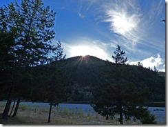 Sunset, Huntley Park, Gold Beach Oregon
